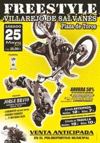 Freestyle en la Plaza de Toros de Villarejo